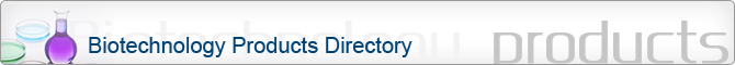 Biotechnology products directory