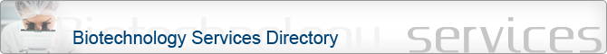 Biotechnology services directory